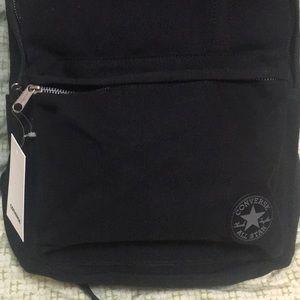 1cf31a7583a0 Converse Bags - Black canvas converse backpack